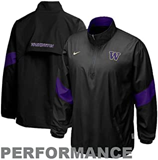 Nike Washington Huskies Halfback Pass Pullover Jacket