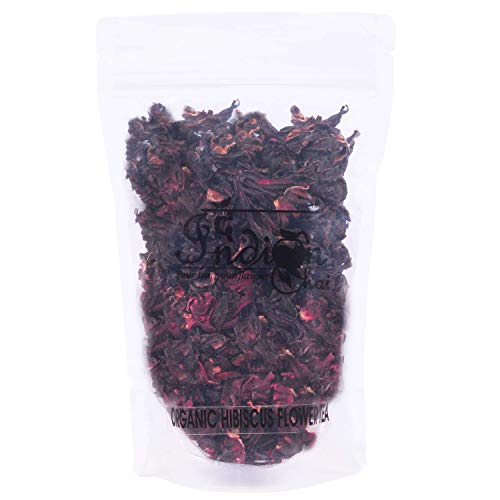 The Indian Chai - Organic Hibiscus Flower Tea 50g in Air...