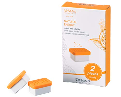 Oregon Scientific geurcapsules voor aroma-wekker Aroma Natural Energy. S oranje