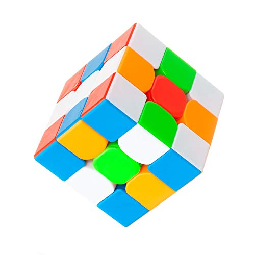 FAVNIC Warrior W Speed Cube, Cubless Magic Cube Speed Magic Cube Puzzle para niños y Adultos...