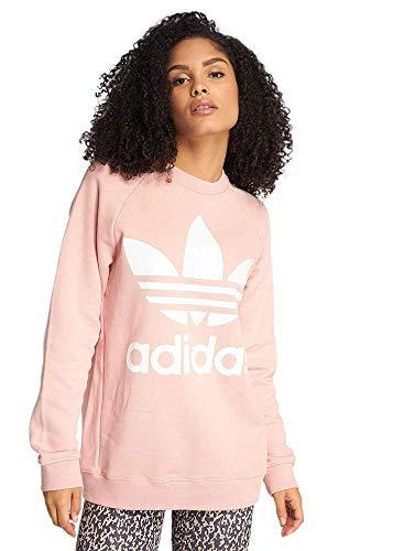 adidas Damen Sweatshirt Oversized, Damen, Jacke, DH4432, Pink Spirit, 40