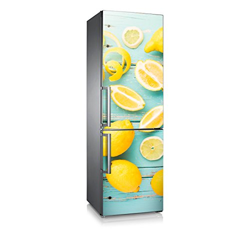 Vinilo para nevera | Stickers Fridge | Pegatina Frigo | Lemon (185x60)
