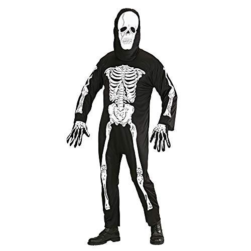 WIDMANN Widman - Disfraz de esqueleto de halloween para hombre, talla XL (3134E) , color/modelo surtido
