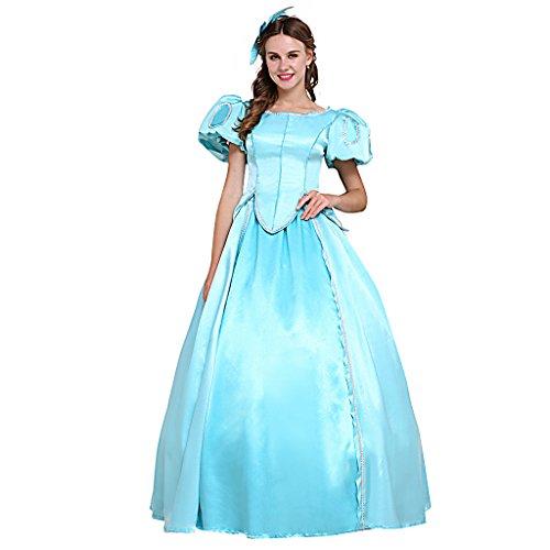 Fortunehouse Disfraz de sirena para disfraz de Halloween, disfraz de Halloween, disfraz temático