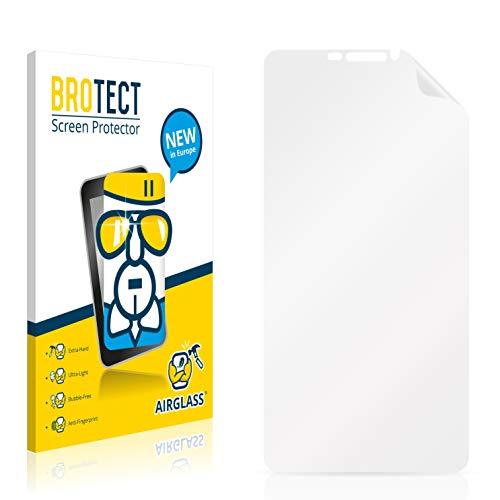 BROTECT Panzerglas Schutzfolie kompatibel mit Bluboo Dual - AirGlass, 9H Festigkeit, Anti-Fingerprint, HD-Clear