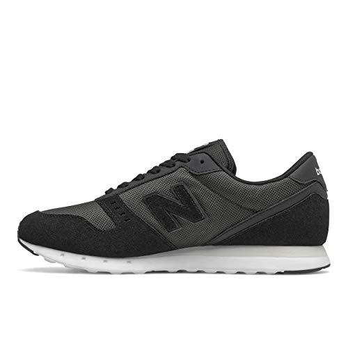 New Balance mens 311 V2 Sneaker, Black/White, 11.5 US