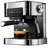 LANGCA Máquina de Espresso, máquina de café Espresso eléctrica, máquina de café de Espuma de 20 Bar, Control electrónico de Temperatura, máquina de café de precalentamiento rápido,