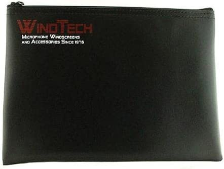 WindTech B-2 Leatherette Microphone Max Sale item 53% OFF Bag