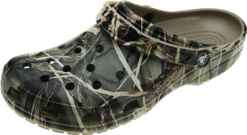 Crocs Classic Realtree - Zoccoli Uomo, Marrone (Khaki), 48-49