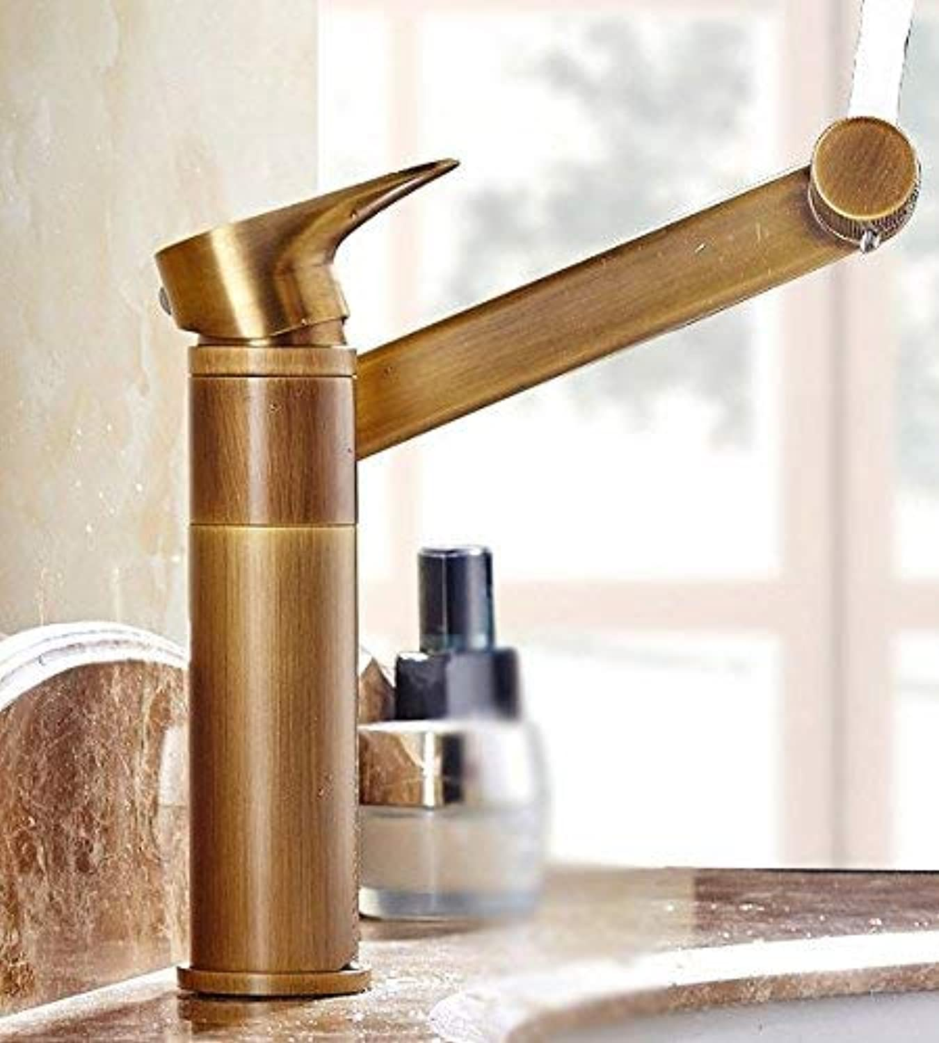 Oudan Copper Washing The Face Hot and Cold Bathroom Wc redate Sink Mixer Taps