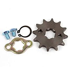 Please Read The Size on The Second Pictures and Confirm It Is Same As Your Old one ! Size: 428 12T 17mm Hole Sprocket