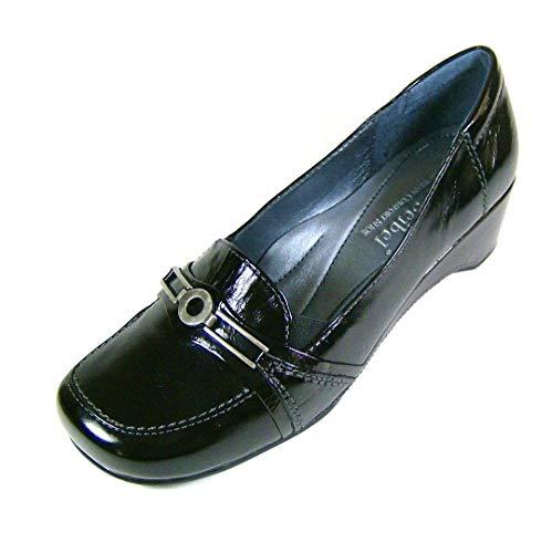 Josef Seibel dames schoenen hak Ballerina Muriel zwart 8743365600