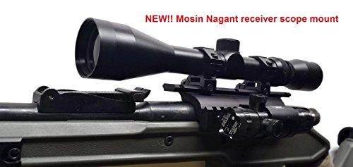 DELTAC Mosin Nagant Double Rail Scope Mount