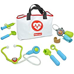 professional Kidzlane Play Doctor for Kids and Toddlers – Set for Kids Games for Kids – 7 Piece Doctor Set…