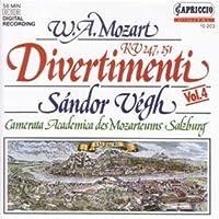 Mozart Divertimenti