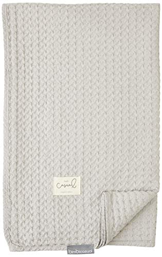 Bimbi Casual Manta Crochet 100% Alg.S.Washed 100X140 258 000 3 - Mantas, unisex
