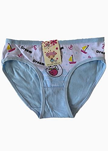 JIAJING 3pcs Girls Seamless Boxer Short Kids Spandex Underwear Boys Panties-1_2-4 T