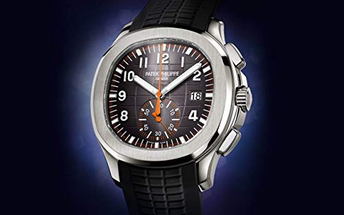 Patek Philippe Aquanaut Steel 5968A-001with Black Embossed dial