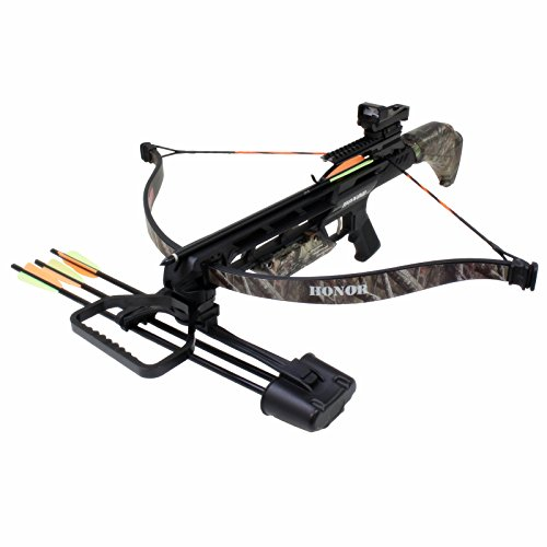 Southland Archery Supply SAS Honor 175lbs Recurve Crossbow Red Dot Scope Package (Camo)