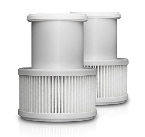 Medisana 60391, Juego de 2 filtros de partículas antibacterias, para purificador de aire Medisana AIR
