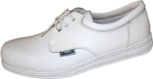 Henselite Henselite - Victory Bowls Herren Schuhe Bowling Schuhe Fußbekleidung - Weiß, 43
