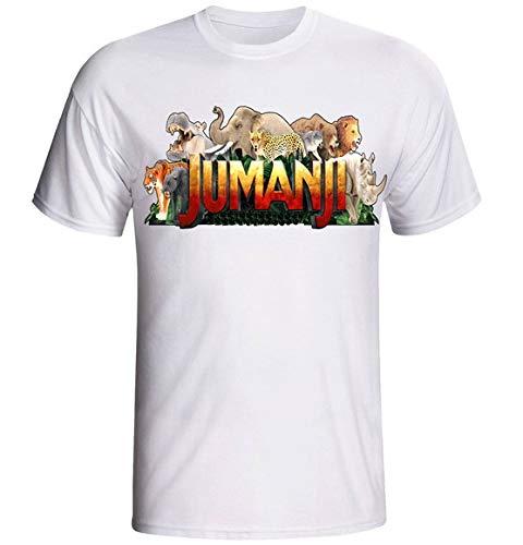 Camiseta e Babylook Jumanji infantil (Babylook - G)