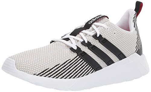 adidas Men's Questar Flow, Black/raw White, 9 M US