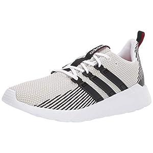 adidas mens Questar Flow road running shoes, White/Black/Raw White, 7.5 US