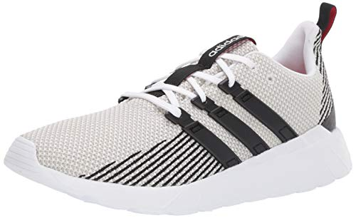 adidas Men's Questar Flow, Black/raw White, 11 M US