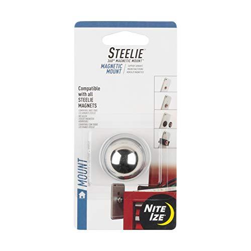 Nite Ize Steelie magnetische houder component - telefoon of tablet houder voor snelle en veilige handsfree installatie - stalen bal met magnetische onderkant