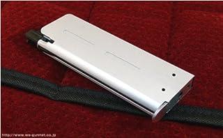 【WAスーパーリアルガン】NWL 19連 コンパクトマガジン 鉄ショートバンパー シルバー〈WA-GM8〉