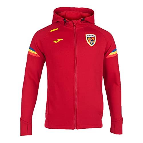 Presentazione Giacca con Cappuccio della Nazionale di Calcio della Romania (XXL, xx_l)