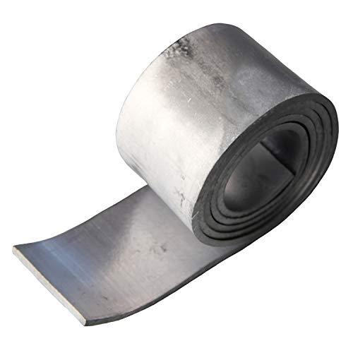 鉛シート 鉛テープ 【3mm厚】 はさみで切れて使いやすさ抜群 遮音・制振・重さ調整に Pb3mm
