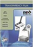 PPD A4 50 Fogli Trasparenti Per Stampanti A Getto D'inchiostro Inkjet - Per Lavagne Luminose - PPD-34-50
