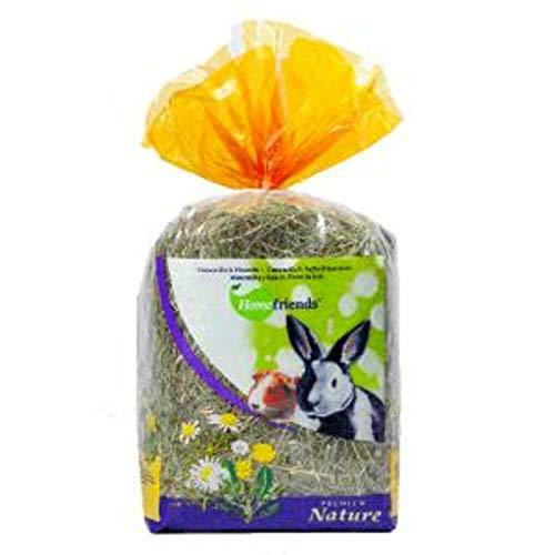 Home friends - Heno Natural para roedores manzanilla-Diente de león 500 gr