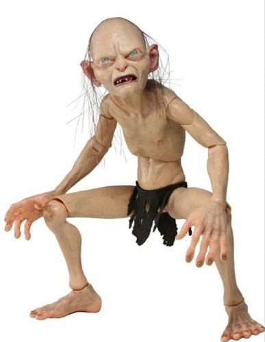 NECA–Lord of The Rings Gollum & Smeagol: Gollum, Figur 1/4(nec0nc30487)