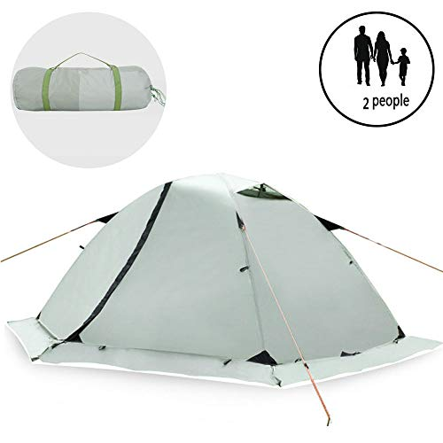 ZYLEDW 2 Person Camping Tent, Automatic Pop Up Waterproof Tent Sun Shelters with Carry Bag, Beach Tourist Tents for Picnic, Hiking, Fishing, Outdoor