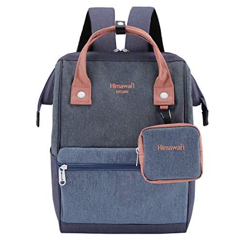 Himawari Travel Laptop Backpack for Men Women, Huge Capacity 15.6'' Computer Notebook Bag for School College...