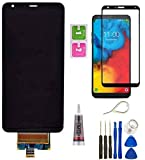 Perfect Stylo 5 LCD Replacement Display Touch Screen Digitizer Glass Parts for LG Stylo 5 Stylus 5 Q720 Q720CS/PS Q720MS/US Q720VS/TS LCD Assembly Replacement + Tempered Glass Eject Pin Tools
