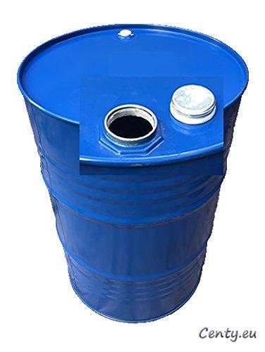 200 Liter Metallfass Spund innen unlackiert Smoker Stahlfass Ölfass Feuertonne Behälter Tonne Blechfass Stehtisch
