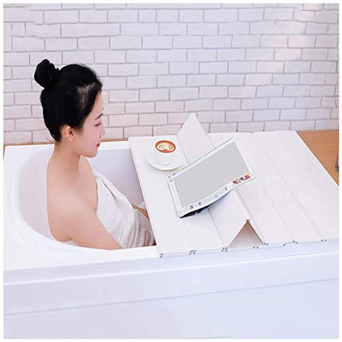 Cubierta de bañera Tablero de Aislamiento de PVC Plegable 22 Tamaños 1,2 CM de Grosor Puede soportar 20 kg Mantener Caliente Almacenamiento a Prueba de Polvo Soporte de bañera Cubierta de ai