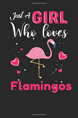 just A Girl who loves flamingos: flamingos Gifts Lined NotebookforMen, Women, Girls and Kids