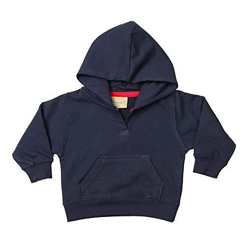 Larkwood Toddler Hooded Sweat Enfant, Bleu Marine, 3-4 Ans