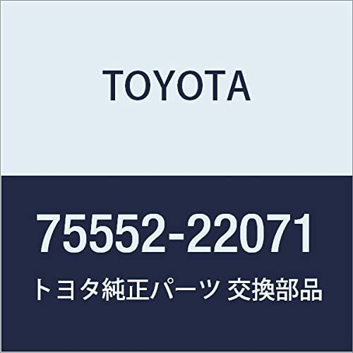 Genuine Toyota Ranking TOP16 75552-22071 Brand new Roof Molding