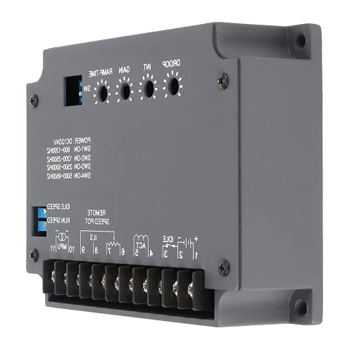 Accesorios para grupos electrógenos de motor diésel, regulador electrónico de velocidad del motor estable de alta sensibilidad para motores diésel para motores de gas