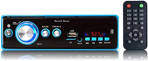 Sound Boss Car FM/USB/SD/AUX/Bluetooth MP3 Player
