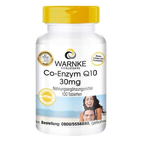 Coenzima Q10 30 mg - Ubichinone - 60 capsule pure