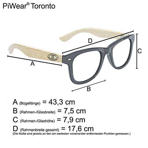 Piwear Motorradbrille Für Brillenträger
