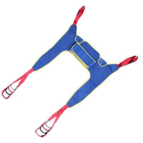 Verdickter Stil Reliant Splited Leg Sling, tragender 230 kg Lift Sling, Verwendung eines Rollstuhls für Hoyer Lift und Kopfstütze beim Überqueren des Bettes beim Ausgehen