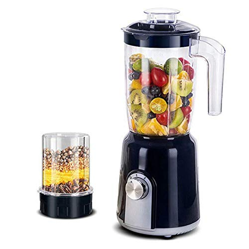 DHHZRKJ Licuadora Comercial, licuadora Profesional de encimera, licuadora procesadora de Alimentos de Alta Velocidad, para Frutas congeladas o sopas Calientes